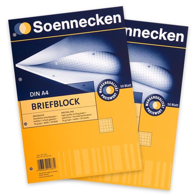Briefblock A4